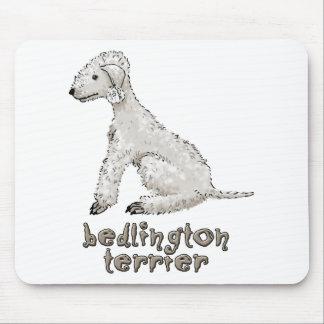 Bedlington Terrier Mauspad