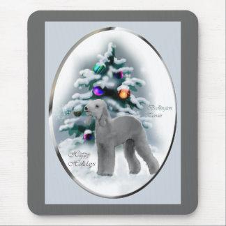 Bedlington Terrier Weihnachtsgeschenke Mousepad