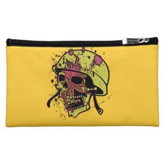 Bedrohlicher Schädel Cosmetic Bag
