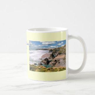 Bedruthan Schritte, Cornwall Kaffeetasse