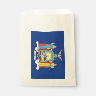 Beehren Sie Tasche mit Flagge von New- YorkStaat, Geschenktütchen