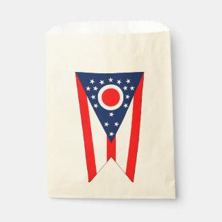 Beehren Sie Tasche mit Flagge von Ohio-Staat, USA Geschenktütchen