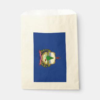 Beehren Sie Tasche mit Flagge von Vermont-Staat, Geschenktütchen