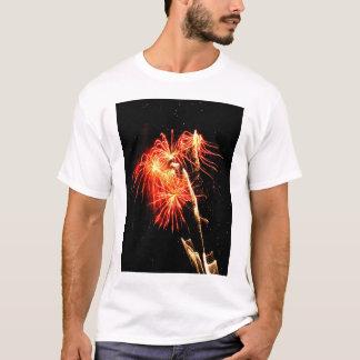 Beeinflussende Flammen T-Shirt