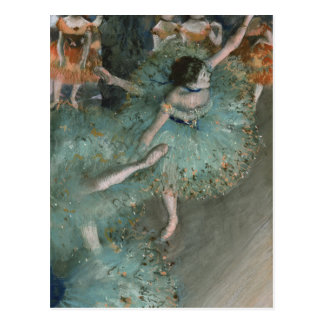 Beeinflussender Tänzer - Edgar Degas Postkarte