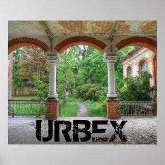 Beelitz Krankenhaus 07.0.2, URBEX Poster