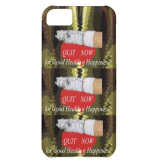 BEENDIGTES Rauchen - für Glück der guten iPhone 5C Hülle