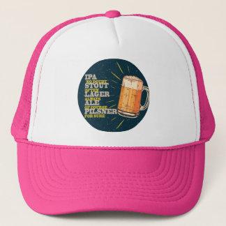 Beer Always, blue, circle Truckerkappe