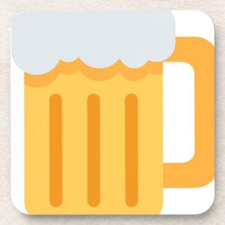 Beer time emoji untersetzer