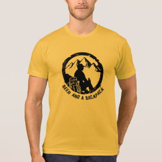 BeerAndaBackpack amerikanischer KleiderT - Shirt