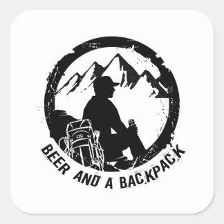 BeerAndaBackpack Aufkleber