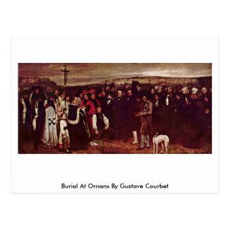 Beerdigung bei Ornans durch Gustave Courbet Postkarte