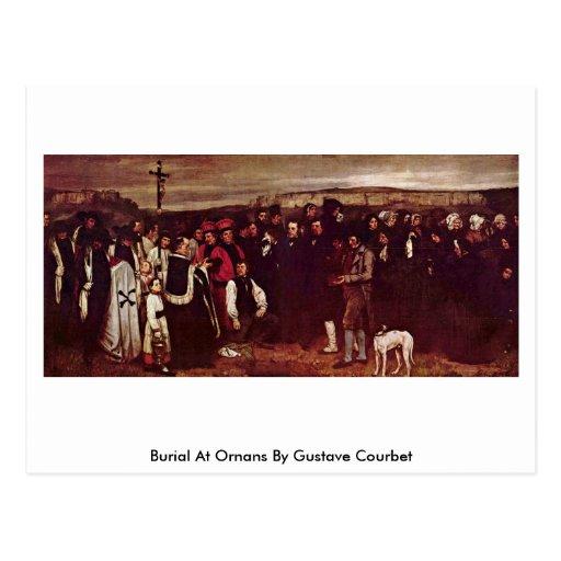 Beerdigung bei Ornans durch Gustave Courbet Postkarten