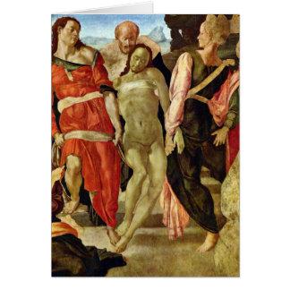 Beerdigung durch Michelangelo Grußkarte