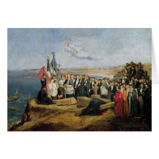 Beerdigung Vicomte de Chateaubriand Grußkarte