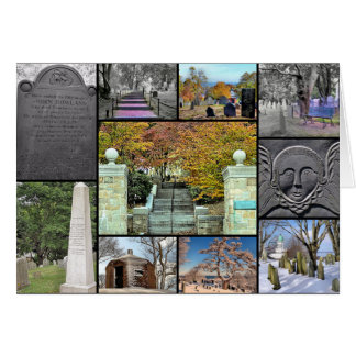 Beerdigungs-Hügel, Plymouth, MA Grußkarte