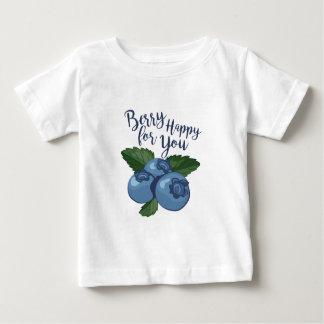 Beere glücklich baby t-shirt