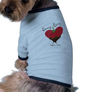 Beere in der Liebe Hundeshirts