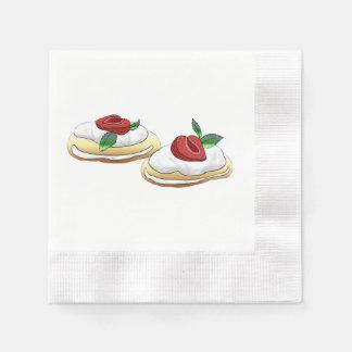 Beere köstlich serviette