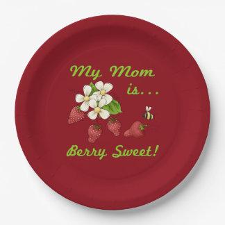 Beeren-Bonbon-Mamma Pappteller
