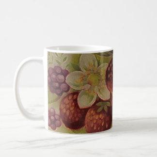 Beeren Kaffeetasse