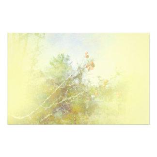 Beeren-und Niederlassungs-Gelb Briefpapier