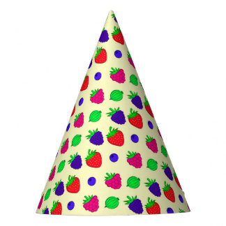 Beerenmischung Partyhütchen