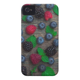 Beerenobsthintergrund iPhone 4 Cover