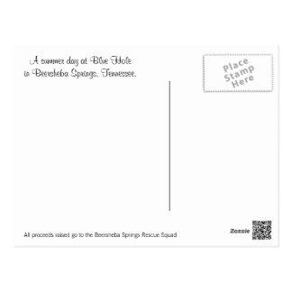 Beerscheba entspringt Postkarte