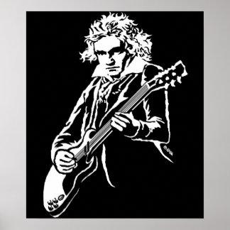 Beethoven-Felsen! Poster