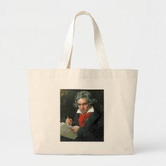 Beethoven-Geschenk-T-Shirts-Sammlerstücke AUF Jumbo Stoffbeutel
