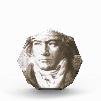 Beethoven im Sepia Acryl Auszeichnung