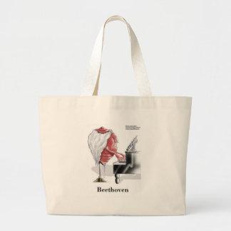 Beethoven-lustige Geschenk-T-Shirts-Tassen-Karten Jumbo Stoffbeutel