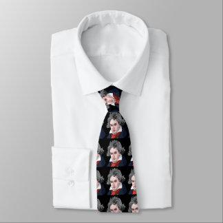 Beethoven-Porträt-Illustration Individuelle Krawatten