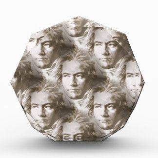 Beethoven-Porträt-Muster Acryl Auszeichnung