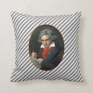 Beethoven-PorträtVintager Reversible Kissen