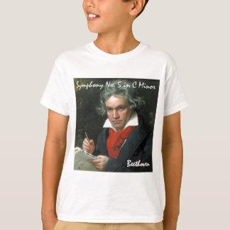 Beethoven-Produkt-Kunst-klassische Sammlung T-Shirt
