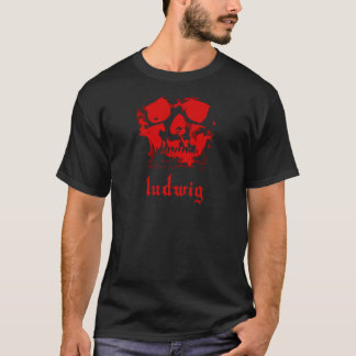BEETHOVEN-Schädel T-Shirt