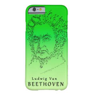 Beethoven stellen die Musik gegenüber Barely There iPhone 6 Hülle