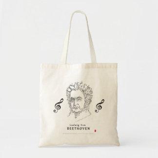 Beethoven stellen die Musik gegenüber Tragetasche