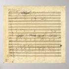 Beethoven-Symphonie-Nr. 9- ursprünglicher Poster