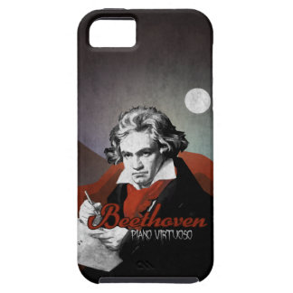 Beethoven virtuoses Klavier black Tough iPhone 5 Hülle