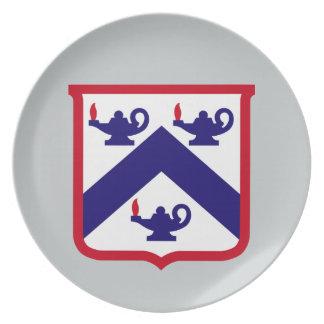 Befehl u. Uni Fort Leavenworth General-Personal Melaminteller