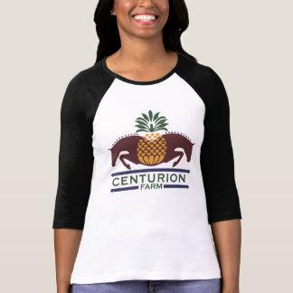Befehlshaber-Bauernhof-Baseball Sleeves Shirt