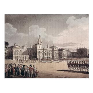 Befestigung des Schutzes an St James Park Postkarte