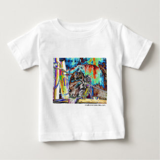Befleckter Gorilla Baby T-shirt