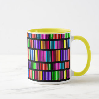 Beflecktes Glas-Spektrum-Tasse Tasse