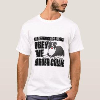 Befolgen Sie die Border-Collie T-Shirt
