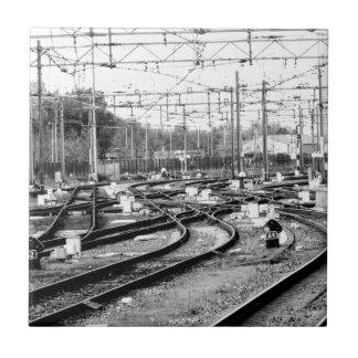 Befördert Weise mit der Eisenbahn Fliese