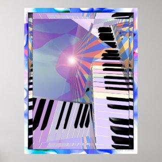 Befreiung von Tastatur-Musik Poster